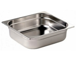 Stainless Gastronorm Pan - 65mm deep 1/2 Size