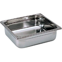 Stainless Gastronorm Pan - 150mm deep 2/3rds Size