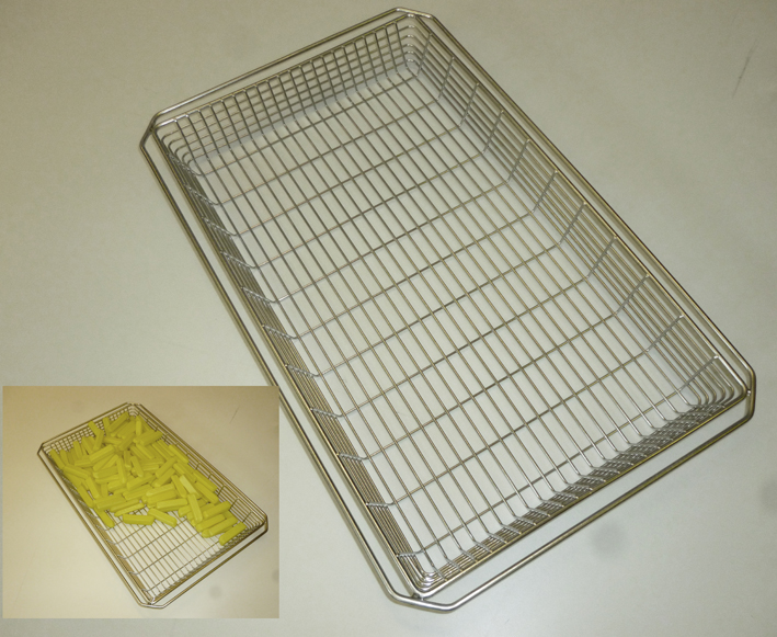 Combi Fry Baskets Gn1 1 for Combination Ovens Stainless