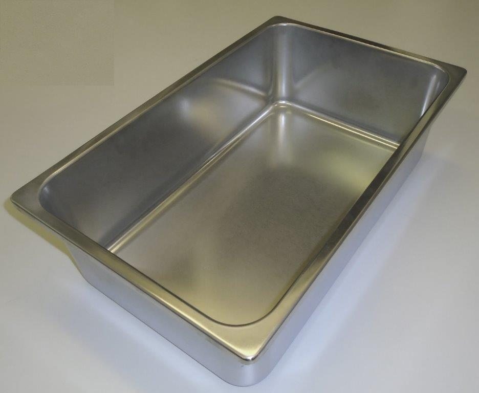 Gastronorm 1/1 160mm Deep Bain Marie/Wet well. Stainless Steel