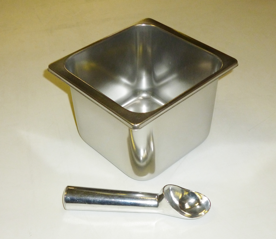 Ice Cream  Container Stainless - 2.5 Litre