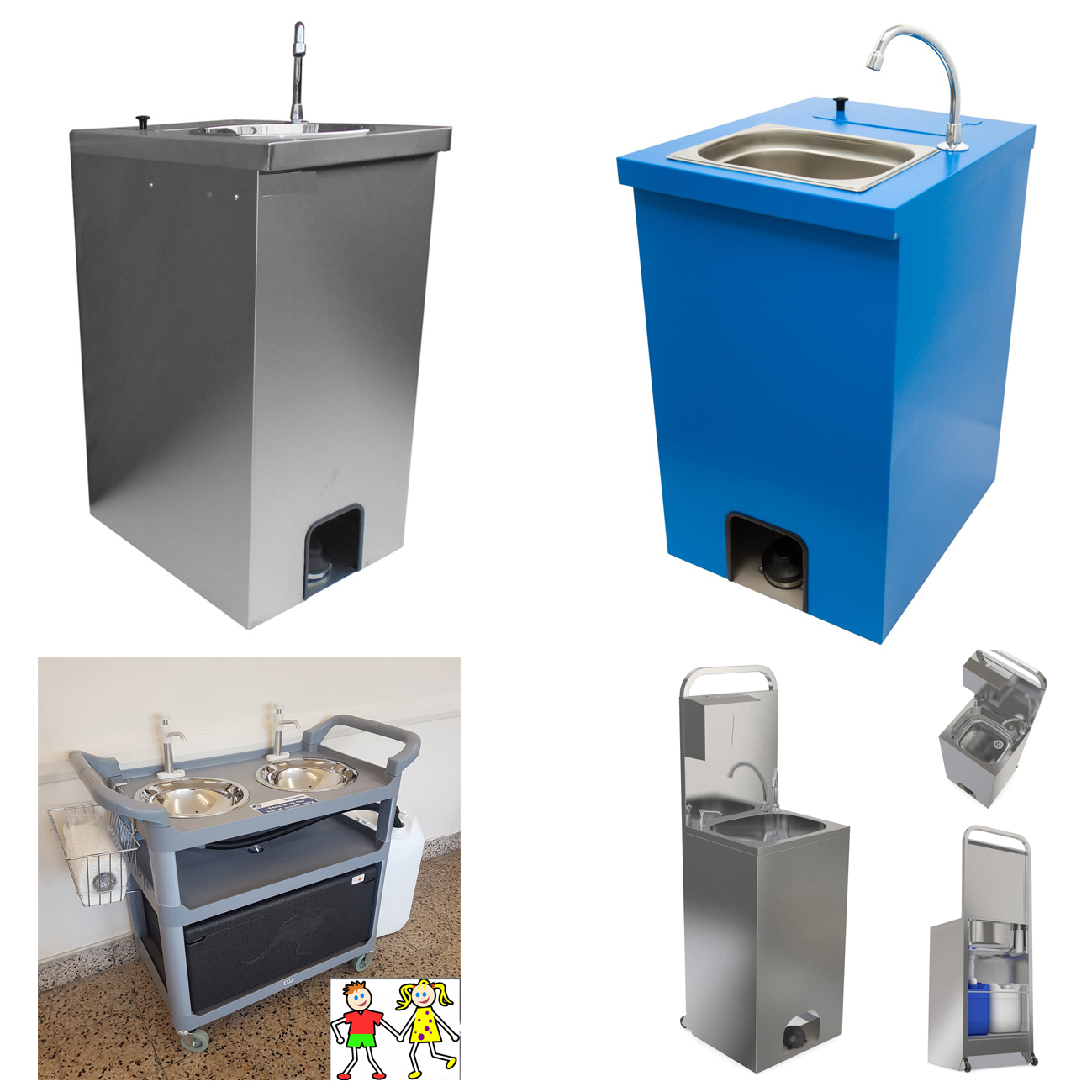 Portable hand wash sinks 9 variants from £325 COVID