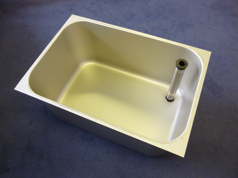 Franke pot wash sink descaled 760 x 510 x380 mm stainless steel