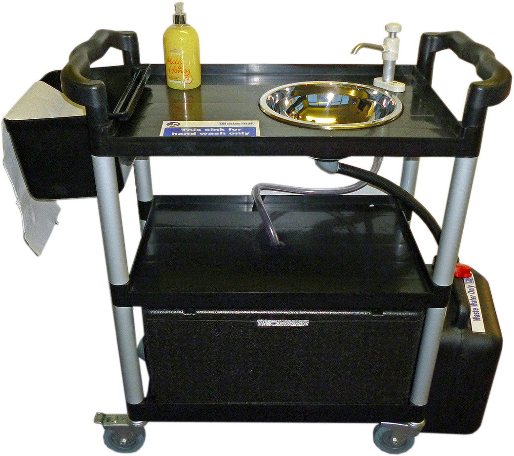 Portable Sink Hot Handwash Unit 23 Lts Mobile