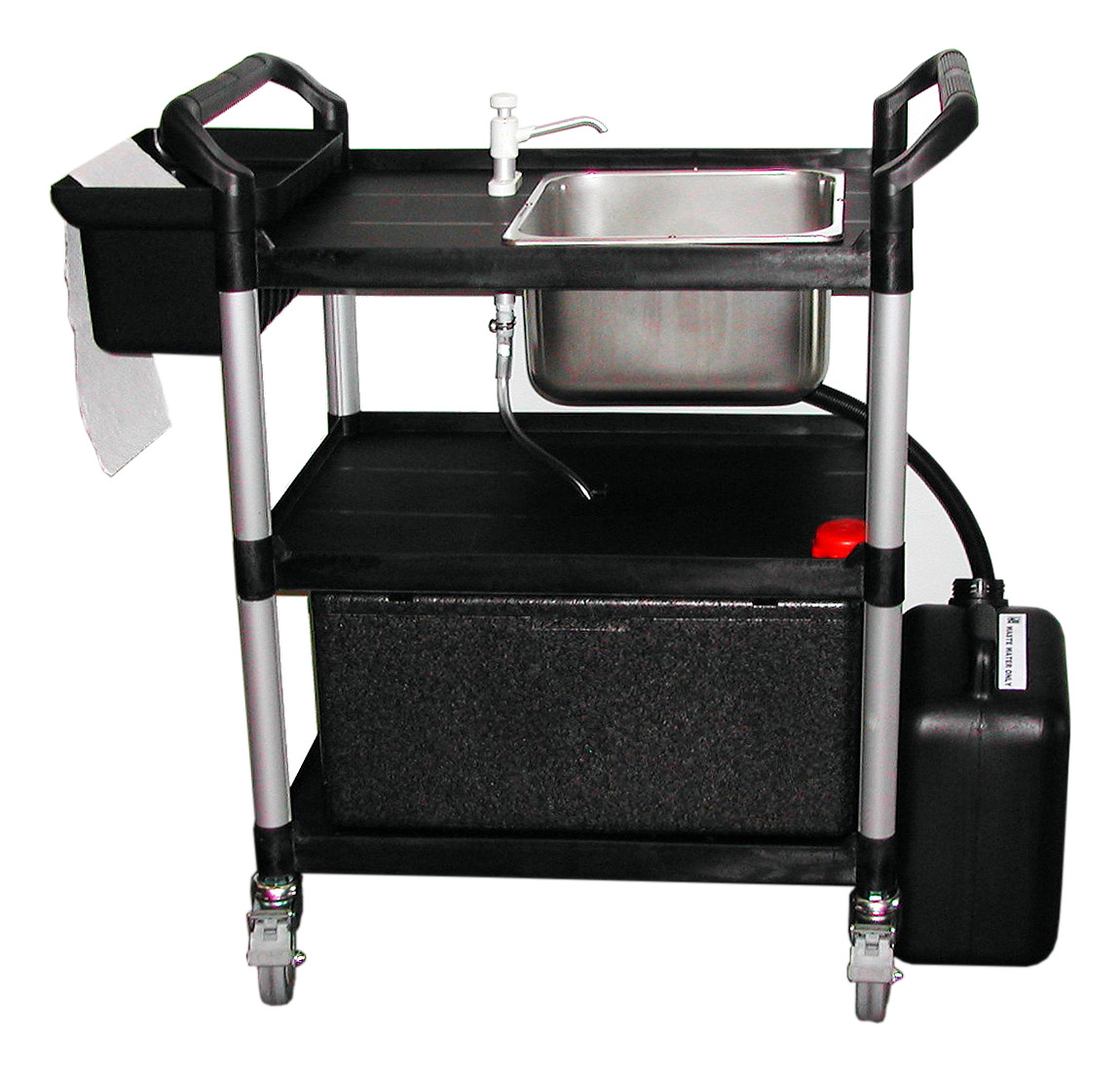 Portable Hot Washing Up Unit 23 lts (sinks) Mobile