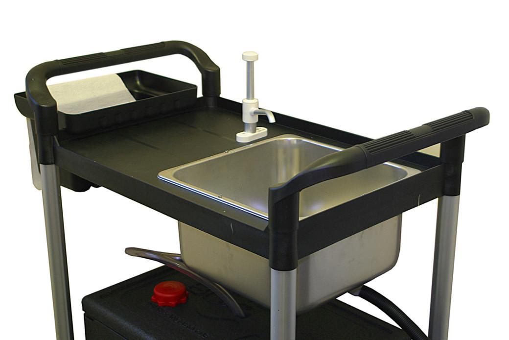 Portable Sink Washing Up Square Bowl