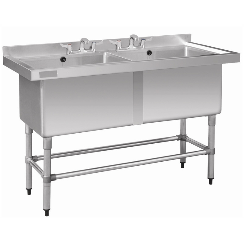 Pot Sink Deep Double Bowl Stainless Steel 1410 Mm X 600mm X 900mm ...