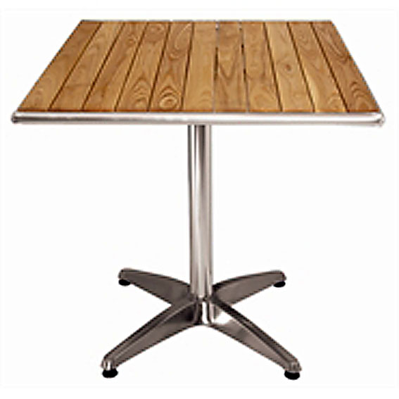 Ash Top Table Square Indoor Outdoor Use 60cm Tables