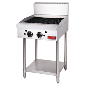 THOR 2 Burner Freestanding Radiant Chargrill - Natural Gas