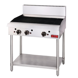 THOR 3 Burner Freestanding Radiant Chargrill - Natural Gas
