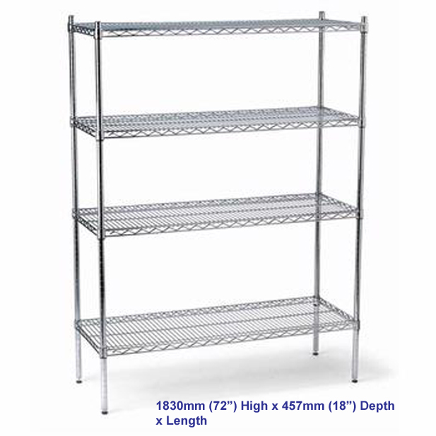 FED Shelving Kits 1830mm x 457mm Depth