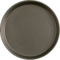 "Black Iron 1.5"" Deep Pizza Pans ( 10"" )"
