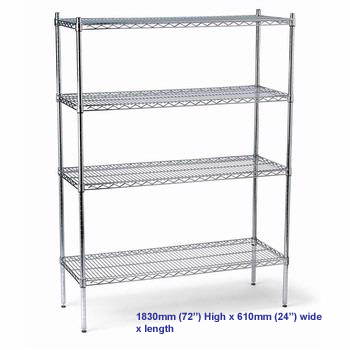 FED Shelving Kits 915mm x 610mm Depth