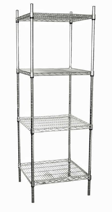 Four Tier Wire Tower Unit 610x610mm