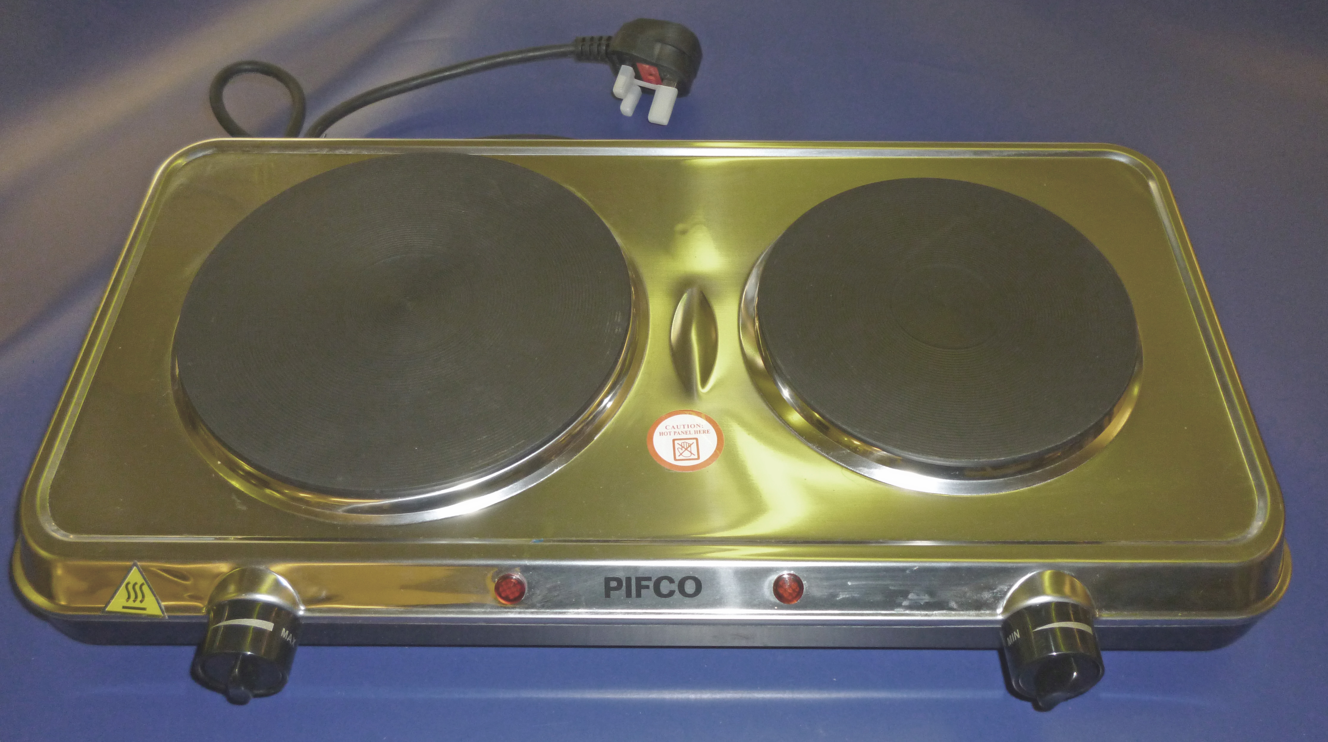 Pifco Double Boiling Ring 240volts. Stainless Steel