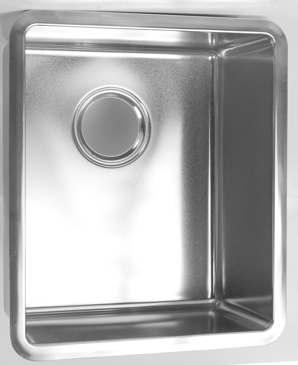 Tight corner radius  sink 304 stainless steel 340 x 400 x 200