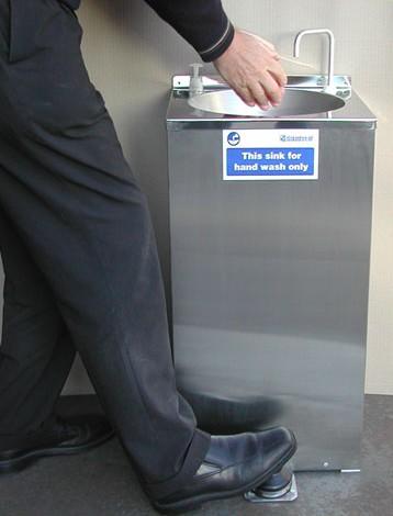 Foot Pump Sink