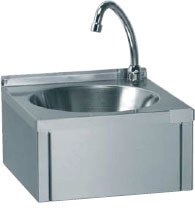 Hand Sink Knee Operated Bowl Unit Without Splash Back