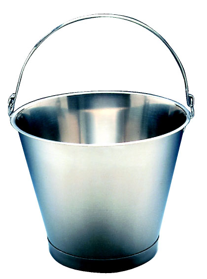 Bucket 12 lts St. Steel