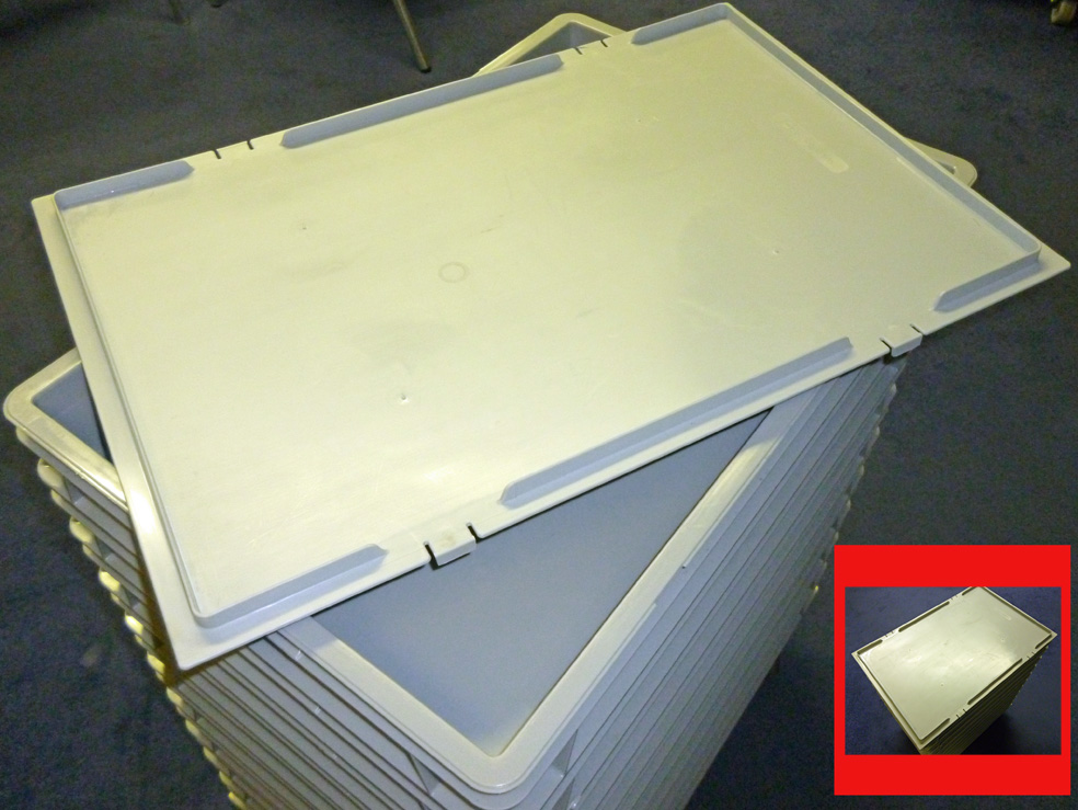 Dough Tray Lid 600 x 400 Euronorm