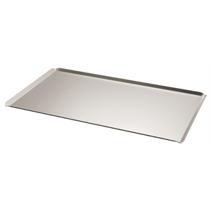 Baking Tray Solid Aluminium 600 x 400 Euronorm Inclined Lip