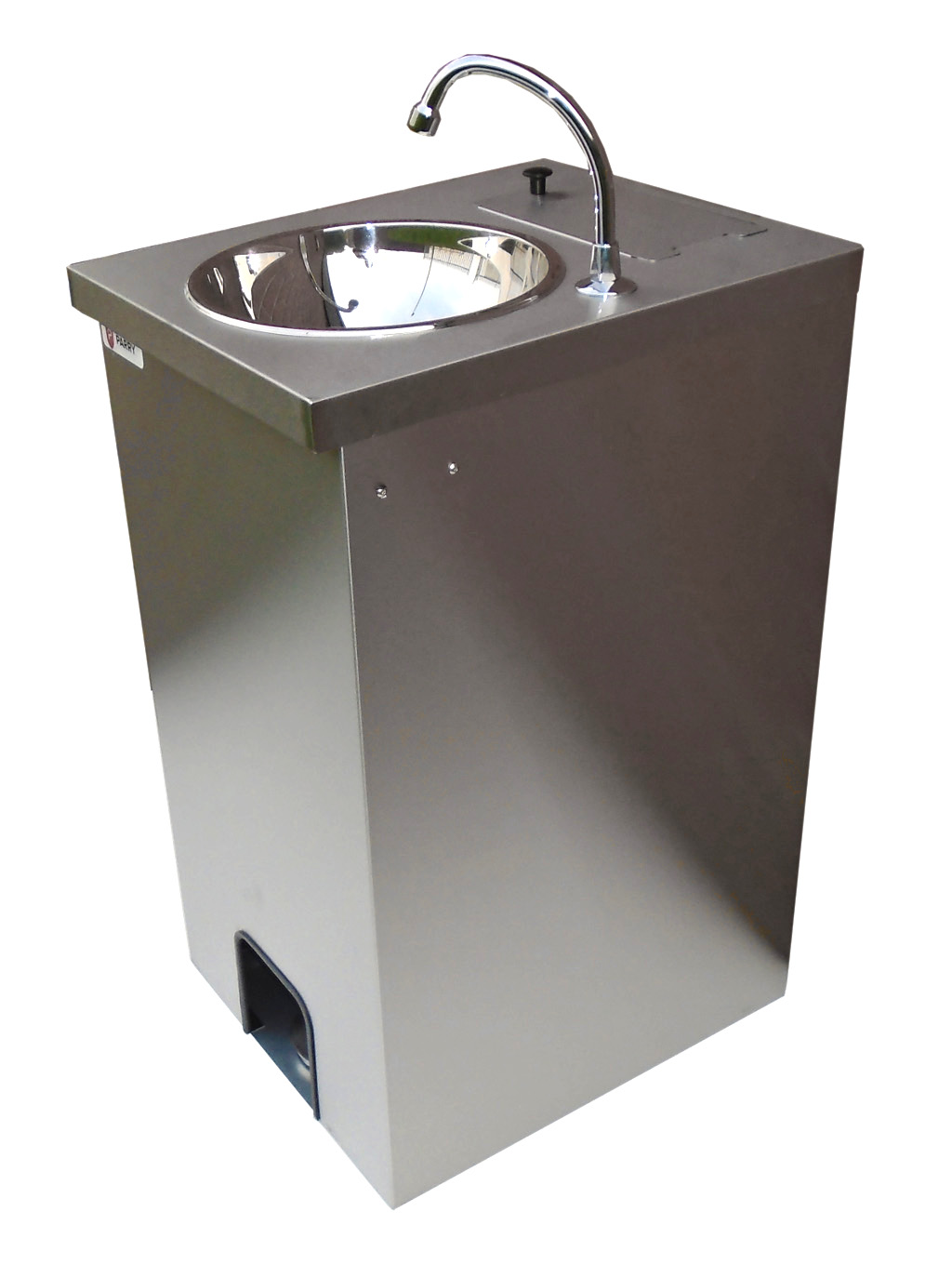 Electric Portable Sink Hot Hand Wash, St.Steel cupboard, 25 lts