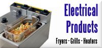 Electrical Products, Fryers, Grills