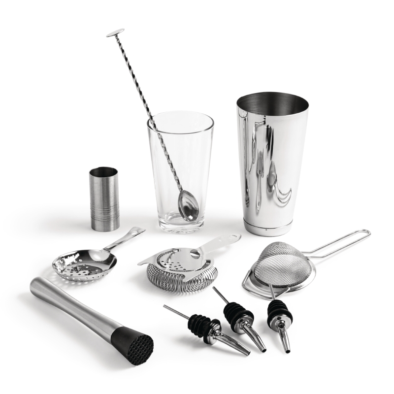 Bonzer 9 Piece Cocktail Kit