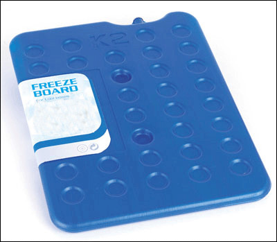 Freezer Blocks 250 mm x 315 mm x 15 mm. blue Eutectic GN 1/2 app