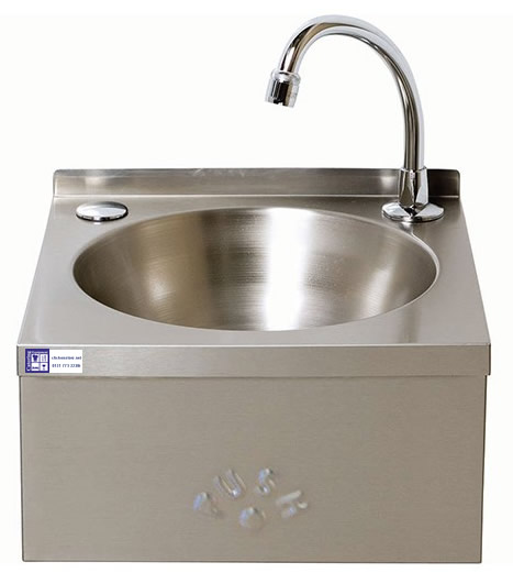 Hand Sink - Knee Operated  Bowl unit without splash back (sinks)