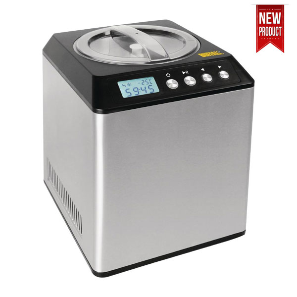 Compact Ice Cream Maker 2Ltr Capacity - New Product