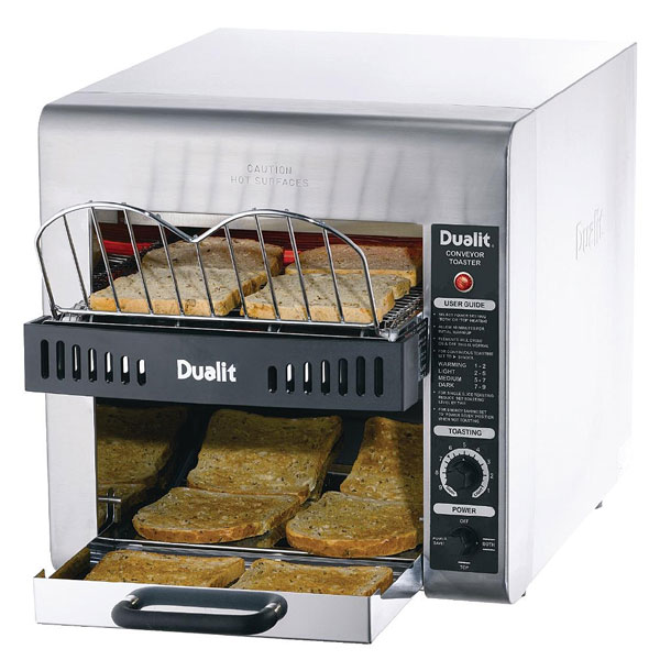 Dualit Double Feed Conveyor Turbo Toaster