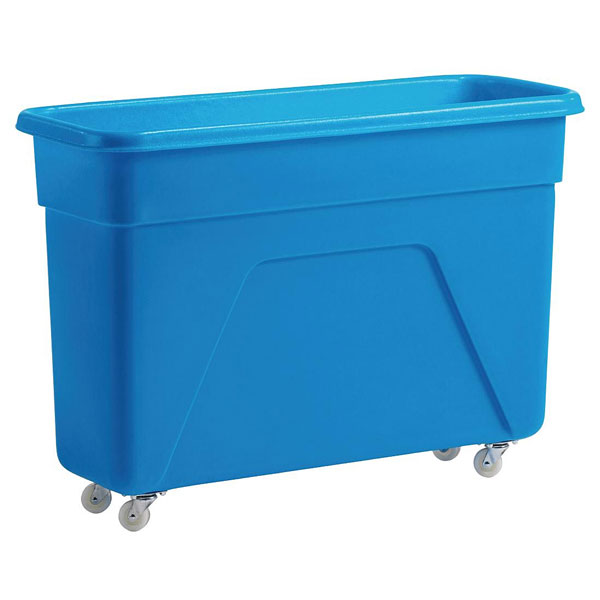 Blue Bottle trolley / Bin. Large capacity.