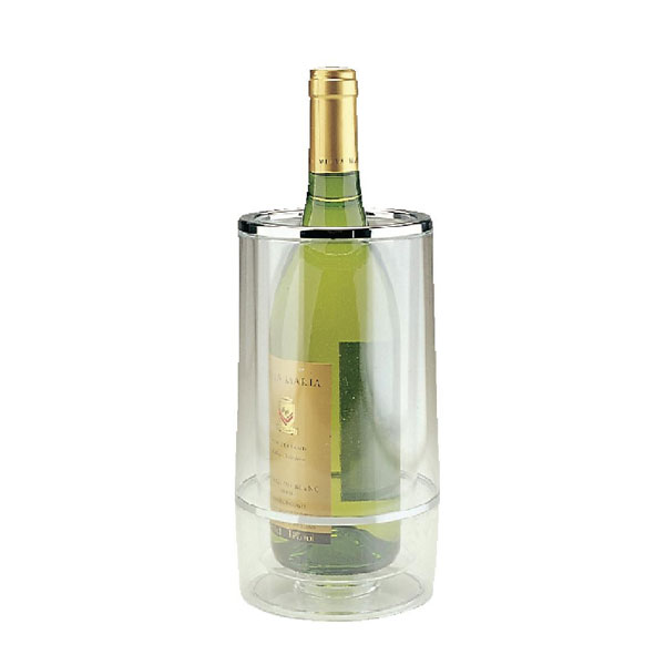 Wine Bottle Chiller Clear Acrylic