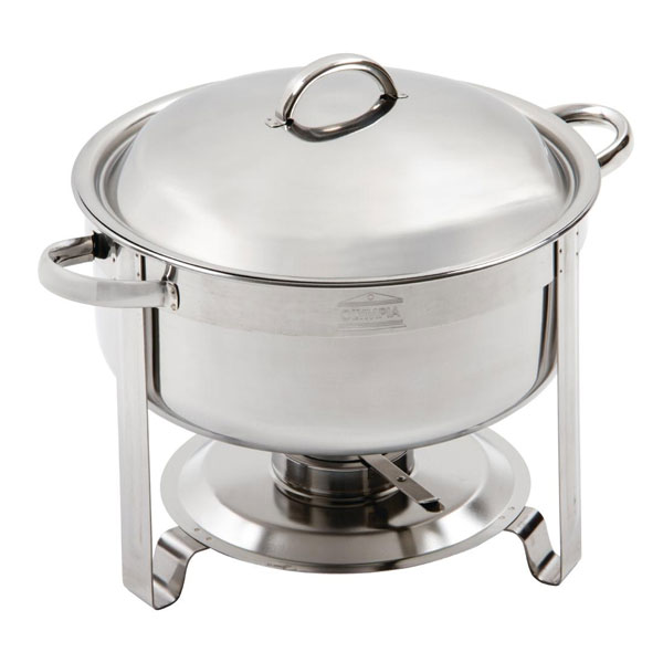 Chafing Dish Round 7 5 Litre Vienna Rcb063