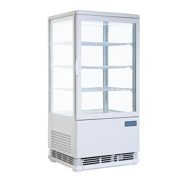 White Polar Display Refrigeration 910mm(h) x 430mm(w) x 390mm(d)