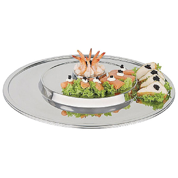 Round Raised Centre Display Trays
