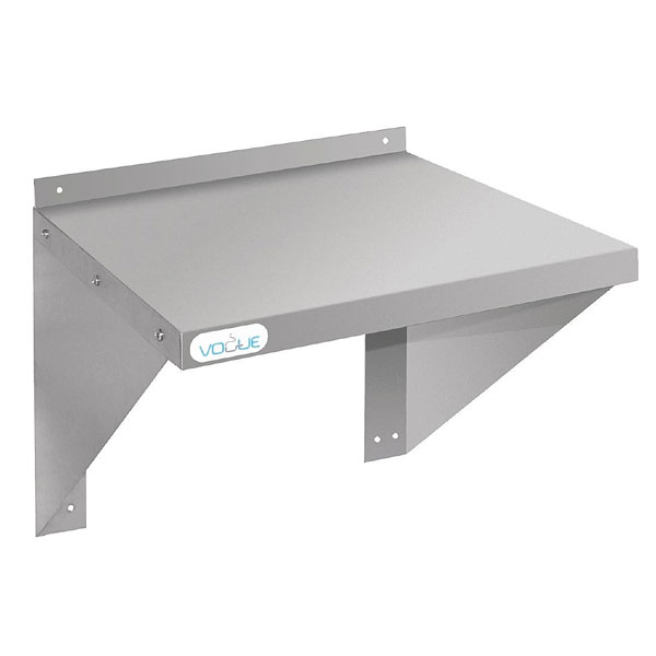 Stainless Steel Microwave Shelf 560 x 460mm