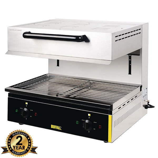 Adjustable Grill Height Salamander Grill