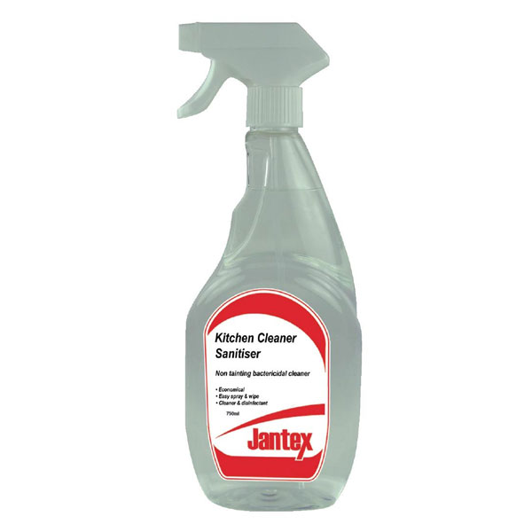 Cleaner Sanitiser spray for hard surfaces