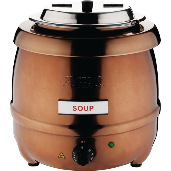 Copper Finish Soup Kettle - New Product