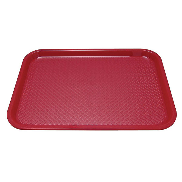 Tray Fast Food Red