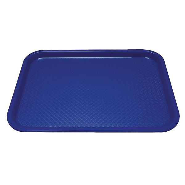 Tray Fast Food Blue