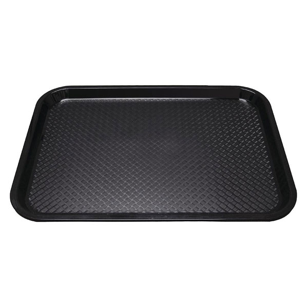 Tray Fast Food Black
