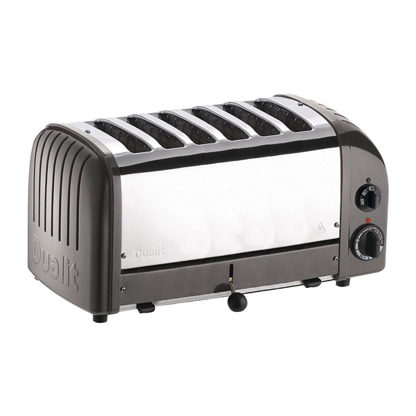 Dualit 6 Slot Toaster (Charcoal)