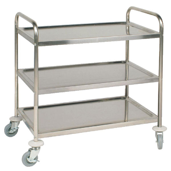 Three tier Catering Trolley 860x535x930mm