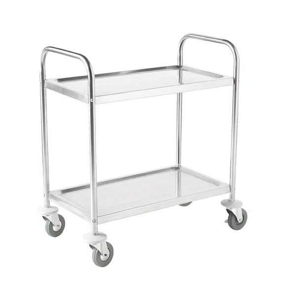 Two tier Catering Trolley 860x535x930mm