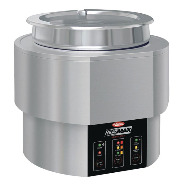 Hatco Sweetcorn Steamer - Round Table Top Heated Well.