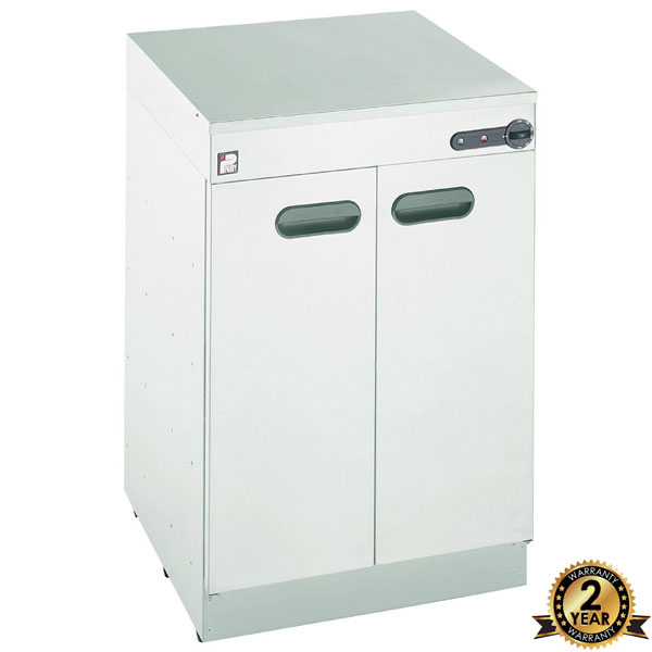 Hot Cupboard/Plate Warmer - Short Double Door Model