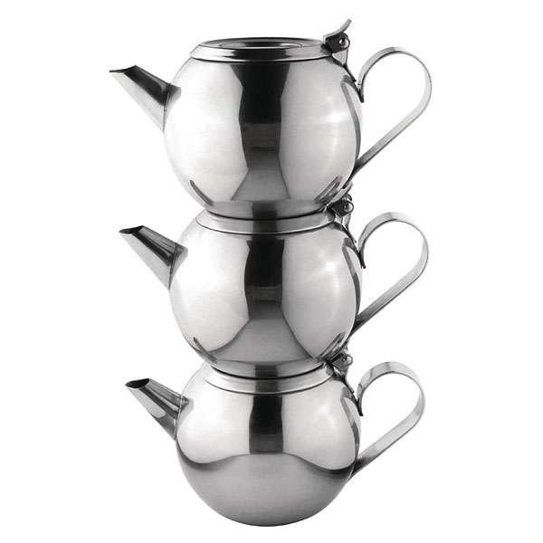 Space Saving Stacking Teapot